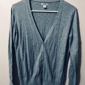 Light Grey Old Navy Sweater Cardigan